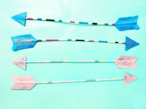 DIY Pfeile zum selber machen – Deko Idee für das Kinderzimmer