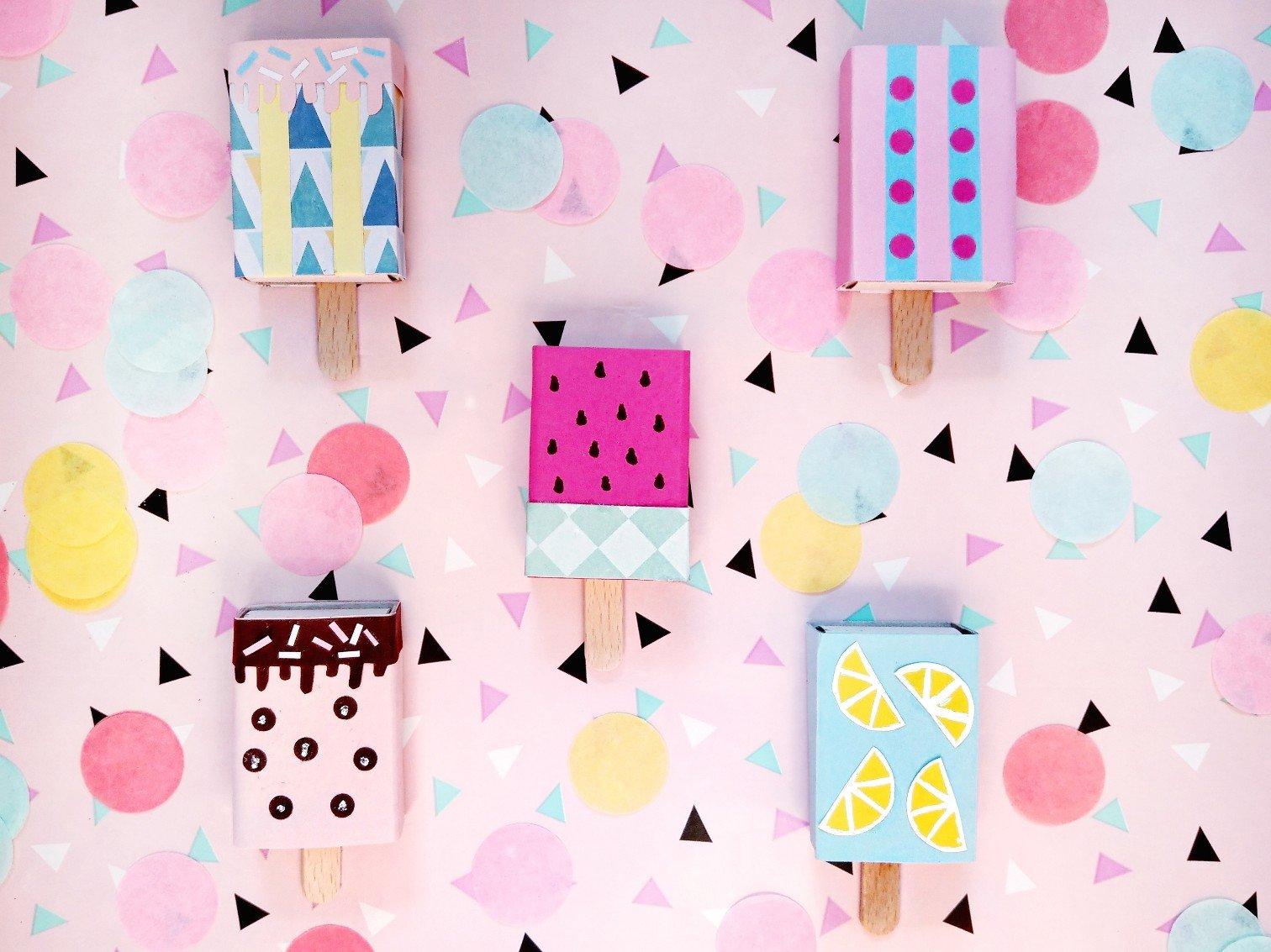 Eis am Stiel Goodie Bag – Süßes zum Kindergeburtstag