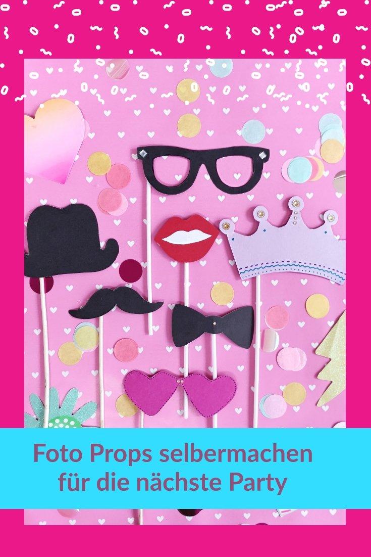 Diy Foto Props Silvester Requisiten Selber Machen Kleinliebchen