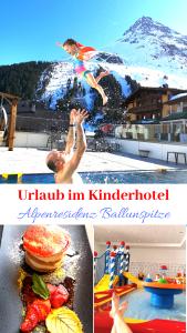 Wie wir unseren ersten Urlaub in einem Familienhotel verbracht haben, könnt ihr hier nachlesen. Das Kinderhotel Alpenresidenz Ballunspitze liegt in Galtür, umgeben von Bergen und Schnee.