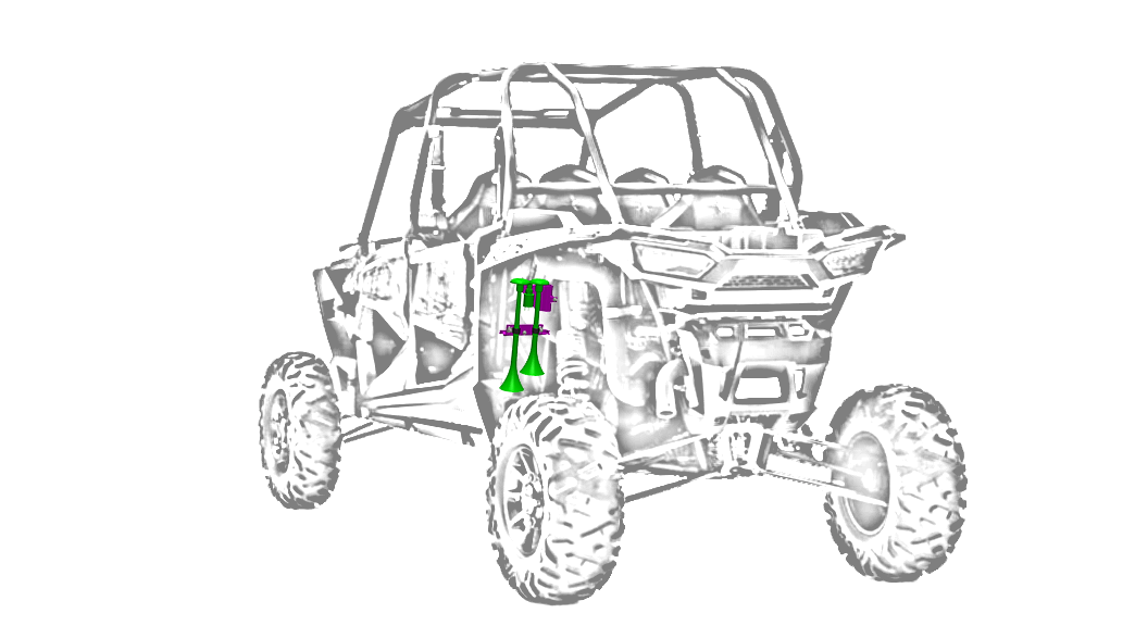 RZR XP 1000 — Kleinn Air Horns