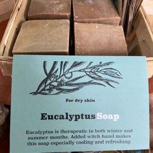 Sallye Ander Eucalyptus Soap