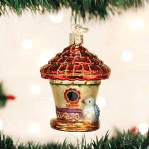 Charming Birdhouse Ornament