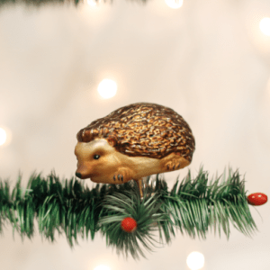 Clip-On Hedgehog Ornament