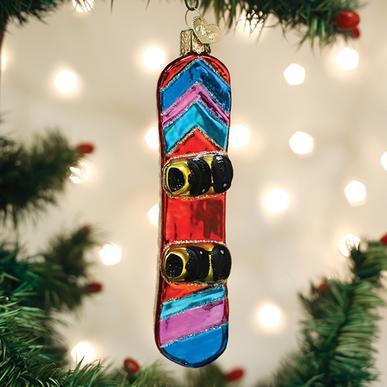 Snowboard Ornament