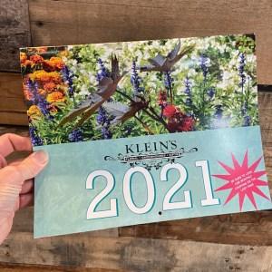 2021 Klein calendar