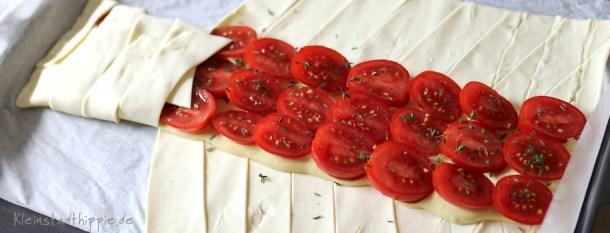 Tomatenstrudel vegan