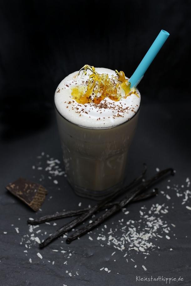 Kokos-Mandel-Shake