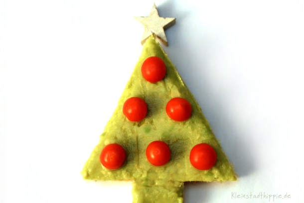 Serviervorschlag zu Weihnachten