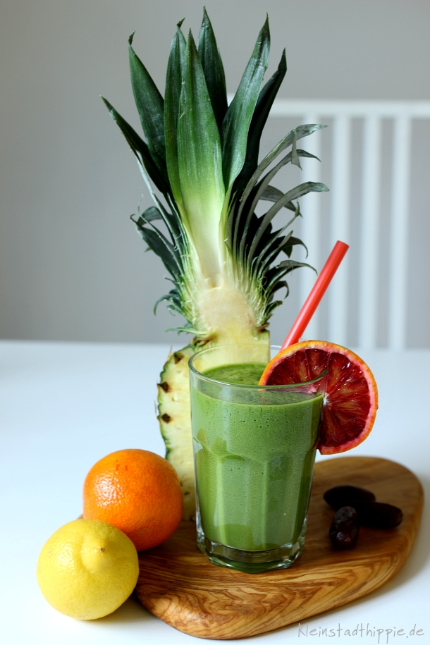Green Smoothie Tropical Winter