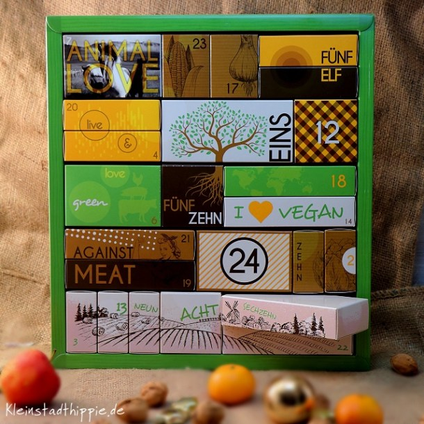 Adventskalender Bio Vegan