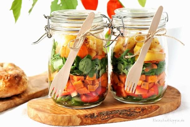 Salat zum Mitnehmen