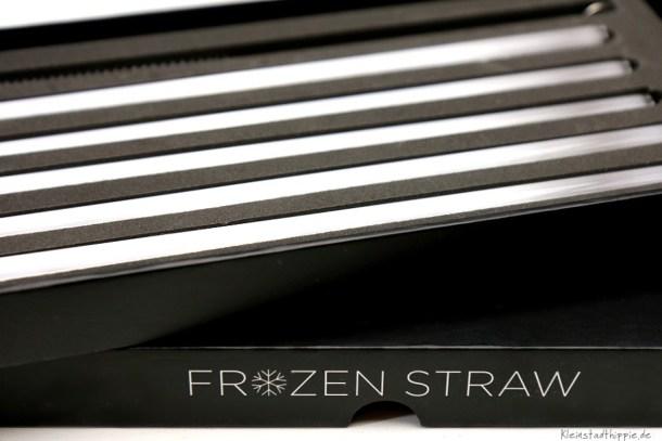 Frozen Straw - Glastrinkhalme