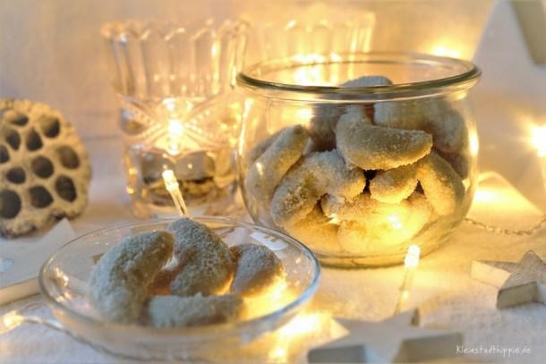 Uromas Vanillekipferl - die besten Vanillekipferl mit Walnüssen