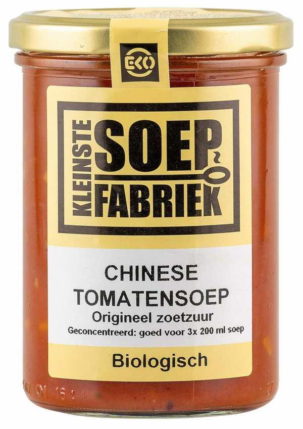 Kleinstesoepfabriek Soepfabriek Biologisch Veganistisch Vegan Vegetarisch Bio Soep Chinese Tomatensoep