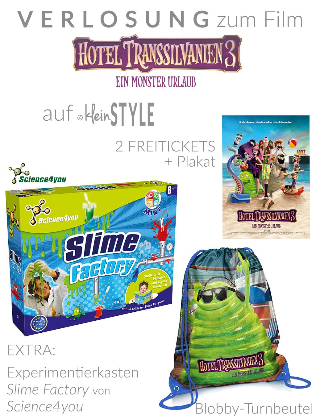 HOTEL TRANSSILVANIEN 3 Monster Urlaub Gewinnspiel kleinSTYLE.com