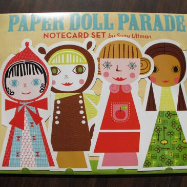 chronicle books Paper doll parade