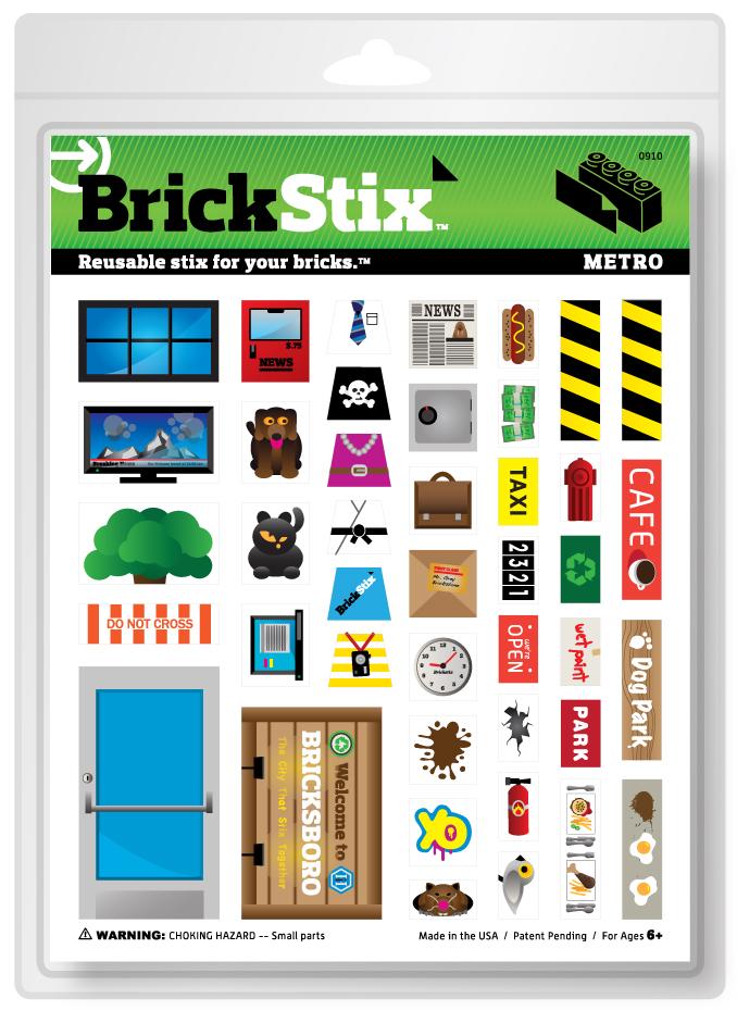 (Deutsch) BrickStix : Wechsel-Gewänder für deine Bausteine