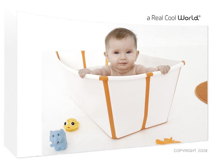 Flexibath : Babywanne in platzsparender Variante!