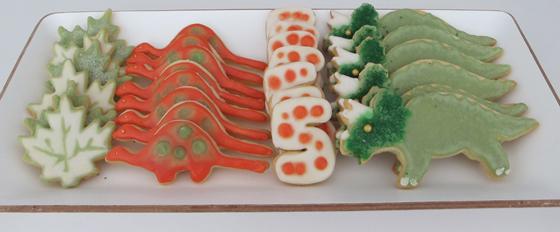 Dinosaurier Geburtstags bash : Kindergeburtstag auf kleinstyle.com dino-party-cookies-03