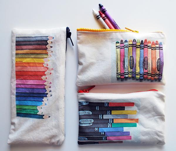 Stiftetaschen : raffiniert und selbstgemacht!