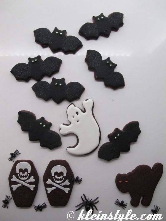 Halloween Cookies & Cake Pops : selbstgemacht!