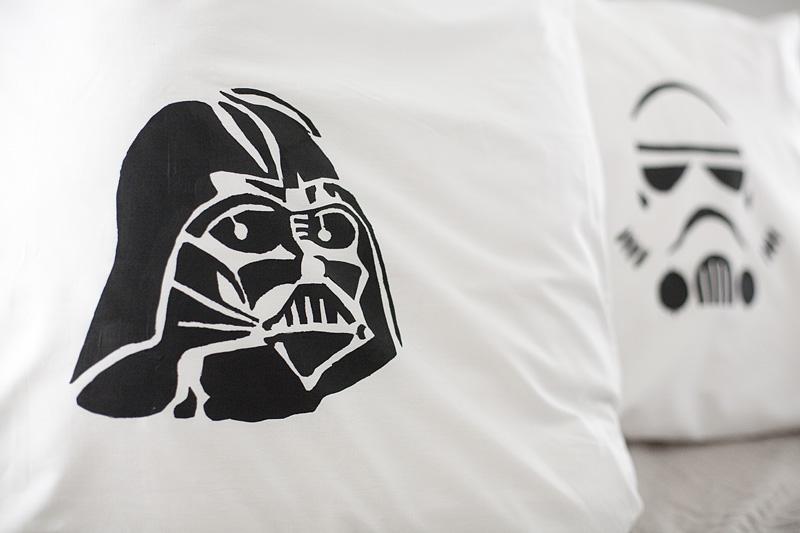 Wie man sich bettet : Star Wars, selbstgemacht!