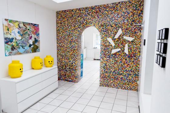 Noch mehr Lego : die Wand!