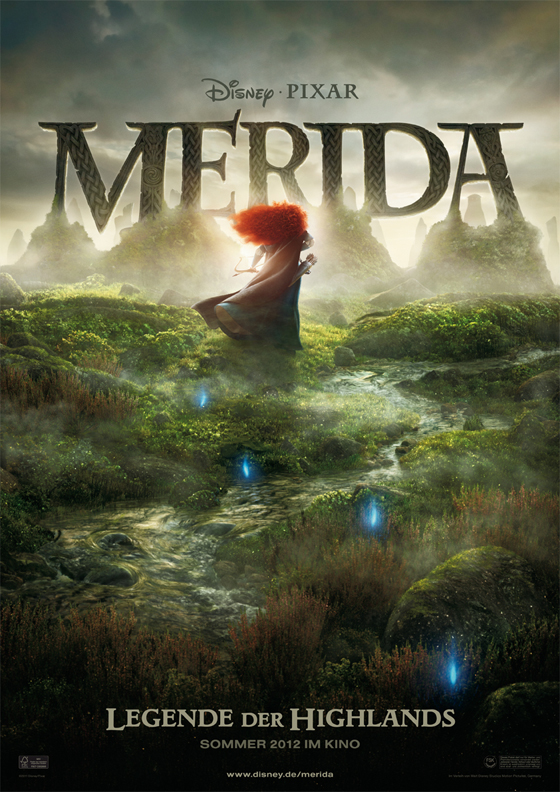 Merida : Kinoabenteuer im Sommer 2012