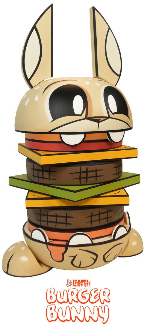 (Deutsch) Wood Burger Bunny : Exklusiver Stapelturm