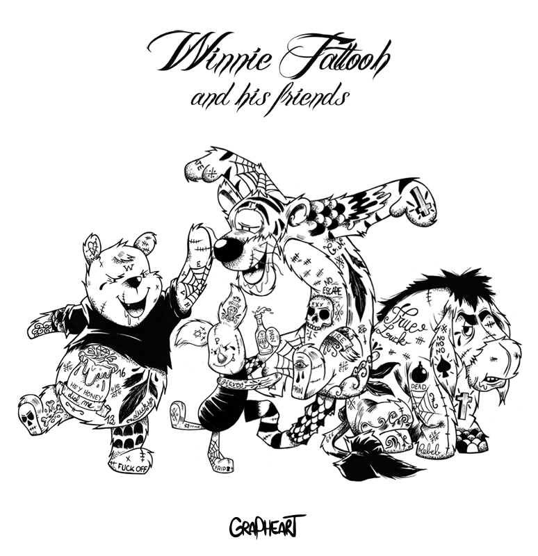 Winnie Pooh?! Von wegen : Winnie Tattooh