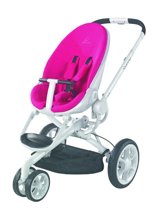 Quinny Moodd Kinderwagen Pink Passion