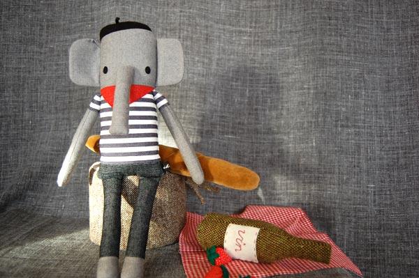nikoki Stofftiere elefant jean luc