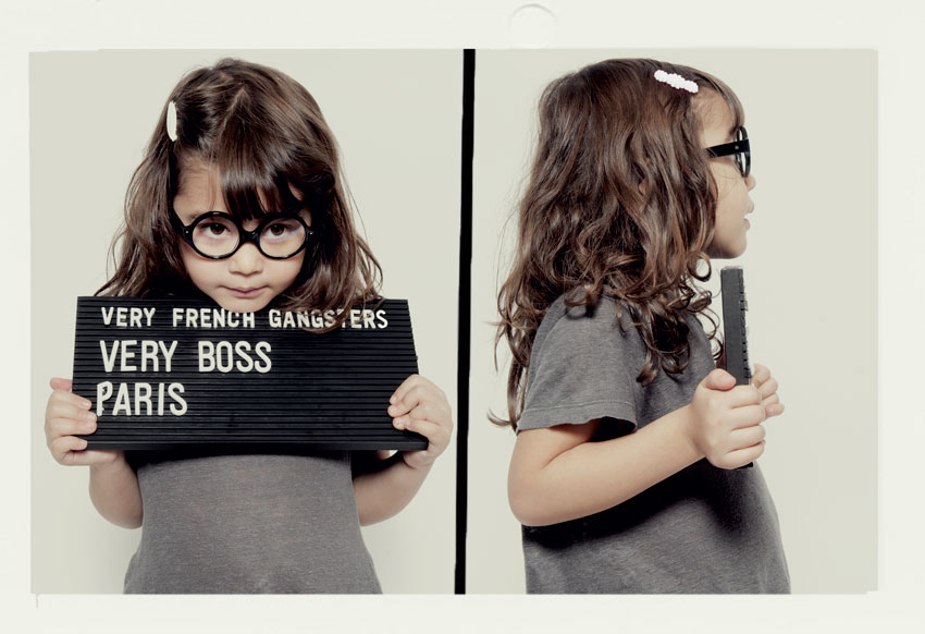 Kids eyewear : Very French Gangsters
