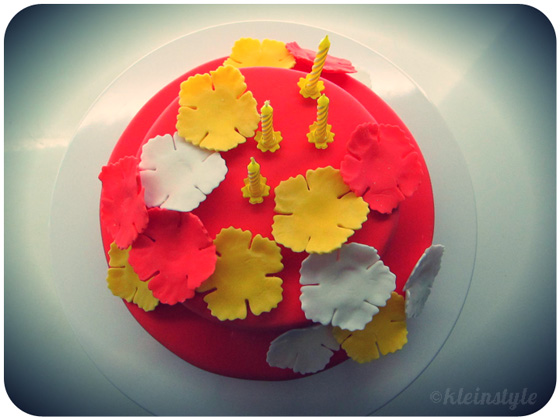 Kindergeburtstag : Hawaii inspirierte Torte