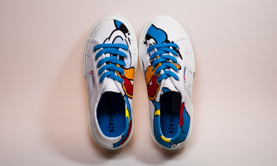 early superga disney collection donald paperino