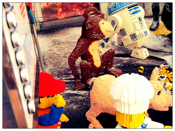 Legoland DIscover Center Lego Figuren Waschtag Legowash