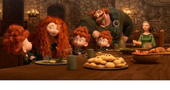 Merida legende der highlands, disney/pixar