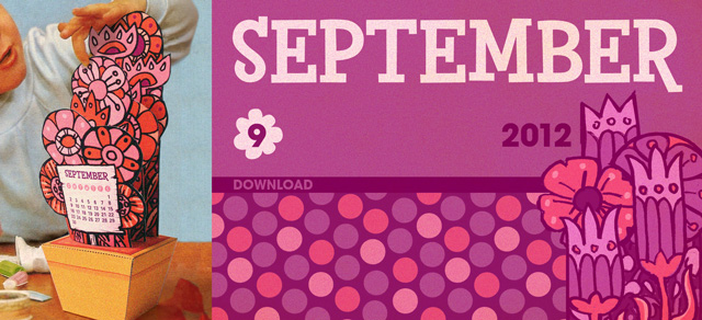 scout creative september gratis download basteln, diy free printable