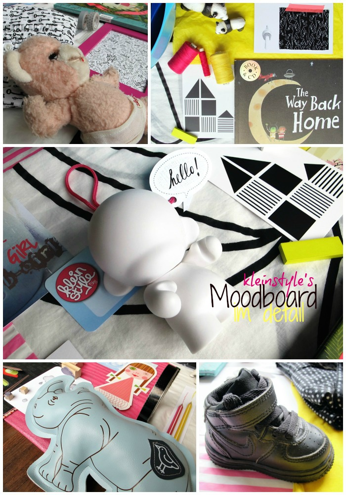 kleinstyle byw boot camp Moodboard detail collage text inspiration, vision, color scheme, topics