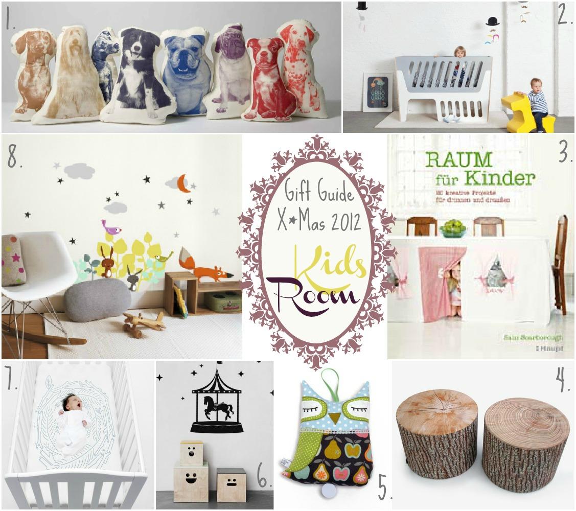 Gift Guide X*Mas 2012 : Kinderzimmer