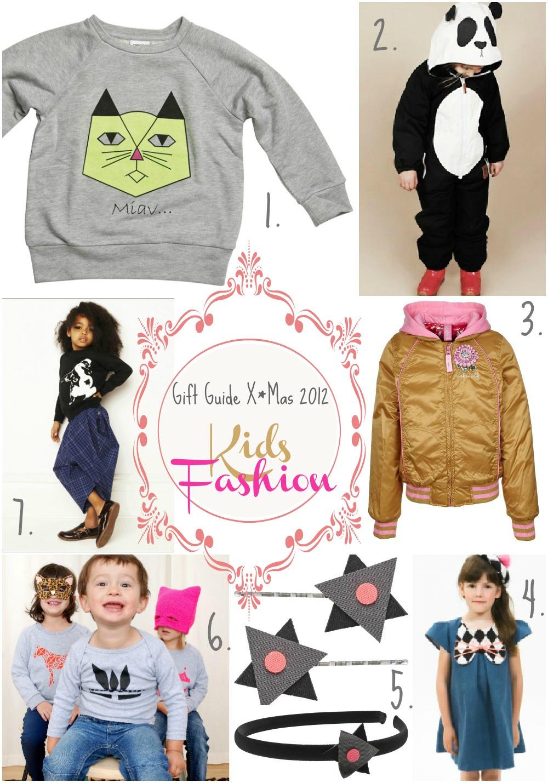 Gift Guide X*Mas 2012 : Kids Fashion