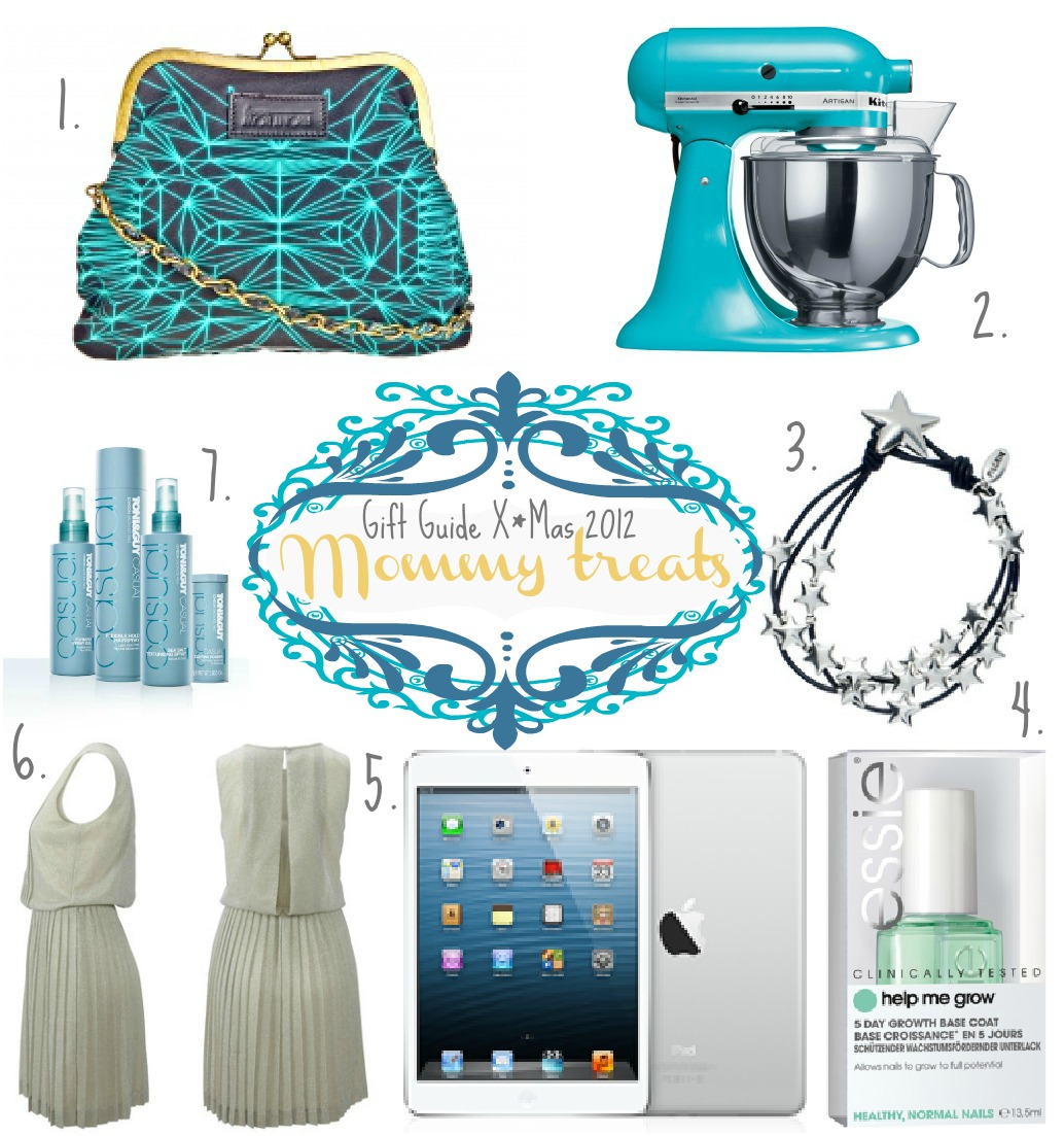 Gift Guide X*Mas 2012 : Mommy Treats