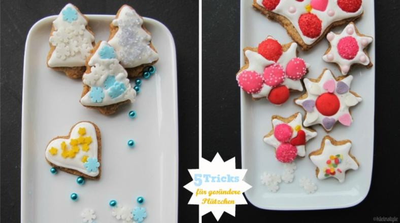 Weihnachtsplätzchen : einfache Tricks für eine gesündere Variante!