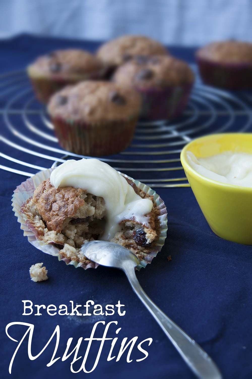 healthy delicious Breakfast Muffins by kleinstyle (recipe from Liebesbotschaft) perfect start of the day for children