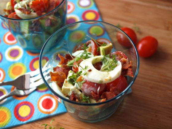 Food Friday : Colourful Easter Egg Salad