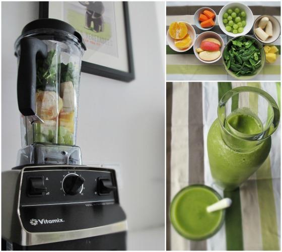 vitamix test auf kleinstyle.com It's easy being green smoothie mit rezept