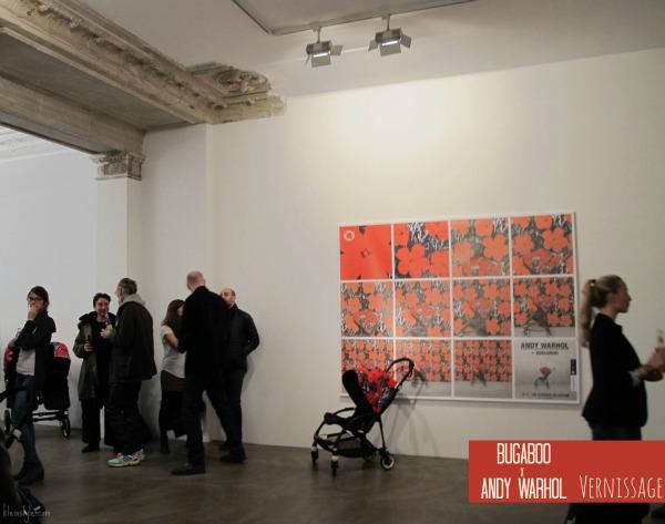 Bugaboo x Andy Warhol : Ausstellung