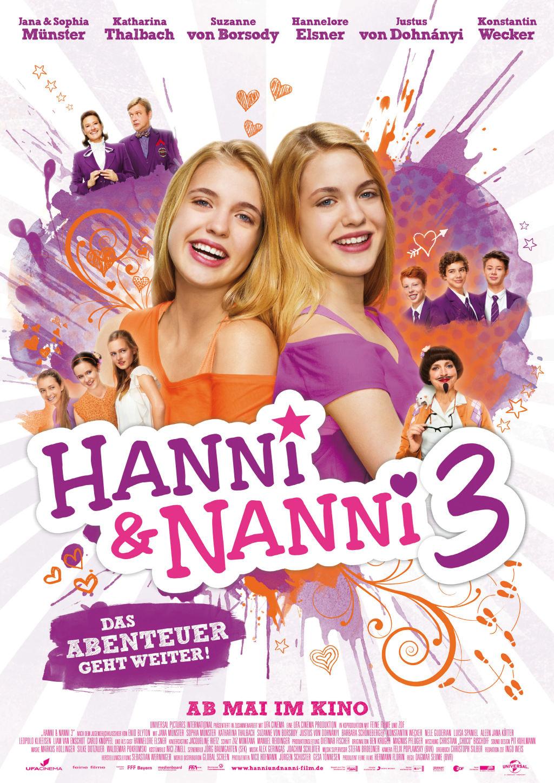 (Deutsch) Media Montag : Kino mit den Zwillingen Hanni & Nanni