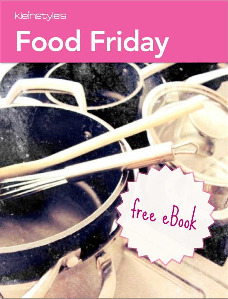 Food Revolution Day : 1 year Food Friday on kleinstyle